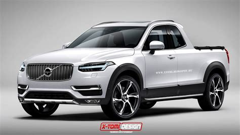 volvo pickup truck 2016 2015 volvo xc90 rendered as pickup truck from your