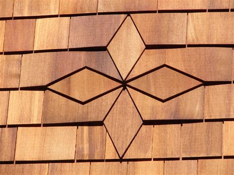 diamond pattern roof tiles cedar shingle diamond pattern rustic boston by