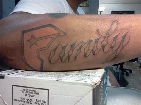 family tattoo with famous f the gallery for gt famous f family tattoo