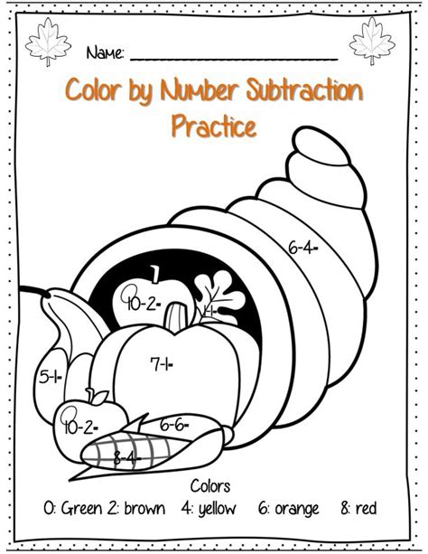 thanksgiving coloring pages for first grade first grade thanksgiving math packet common core aligned