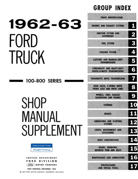 car engine repair manual 1963 ford e series auto manual 1961 1962 1963 ford truck repair manual