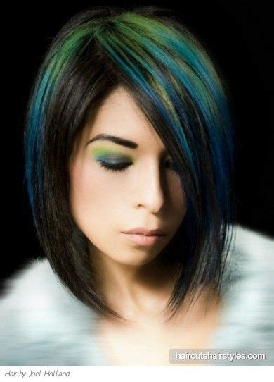 Green Hairstyles by 1000 Images About Hair Ideas On Bobs Edgy