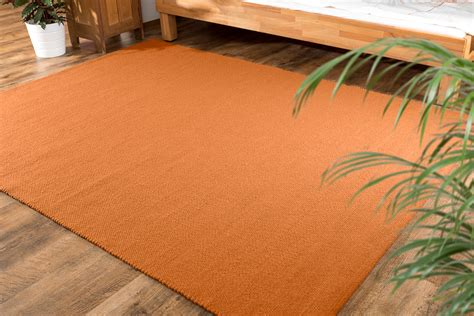 teppiche orange einf 228 rbige orange oder gelbe teppiche
