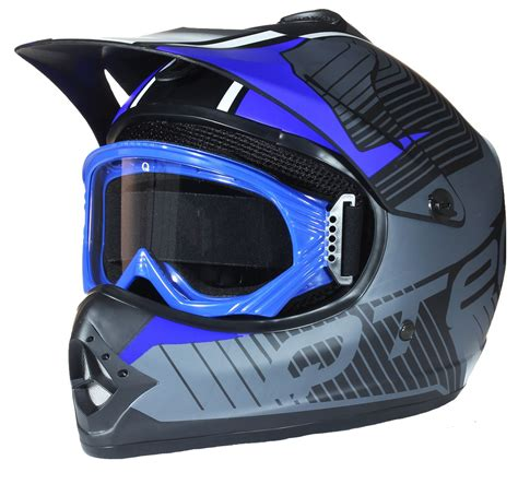 Helm Cross Bmx Kinder Cross Helm Und Schutzbrille Goggles Mx Bmx Atv
