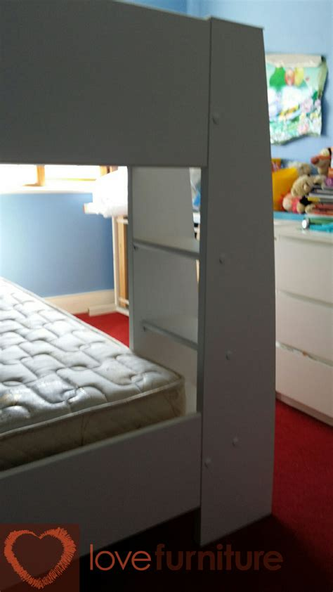 leo bunk bed with free mattress