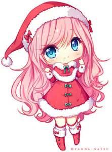 Kawaii merry christmas christmas christmas cards anime happy new year