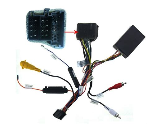 wiring harness for aftermarket stereo oem with aftermarket