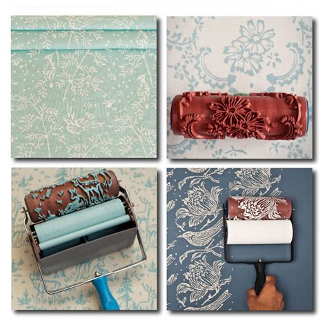 pattern paint roller youtube patterned paint rollers