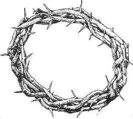 coloring page crown of thorns crown of thorns coloring page coloring pages