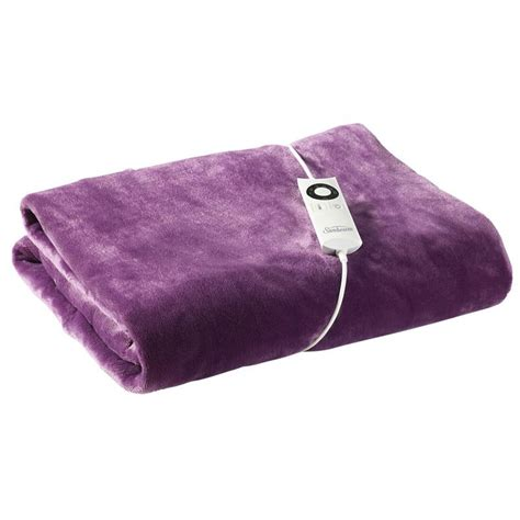 electric couch blanket sunbeam feel perfect electric blanket throw rug buy