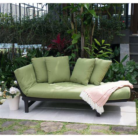 Porch Sofa by Green Outdoor Patio Furniture Set Chair Lounger Futon Deck