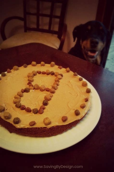 just like home design your own cake dog birthday cake recipe a special treat for your dog s
