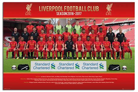 official liverpool 2016 a3 1780549695 liverpool fc equipo escuadr 243 n 2016 2017 p 243 ster nuevo tama 241 o maxi 36 x 24 in approx 60 96 cm