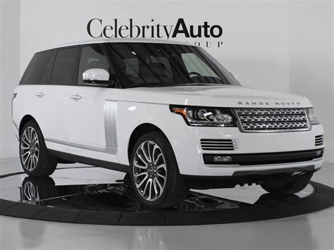 land rover white 2014 2014 land rover range rover autobiography