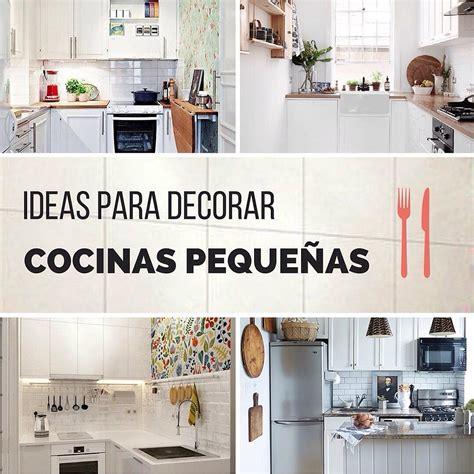 ideas  estilo  decorar cocinas pequenas handfie