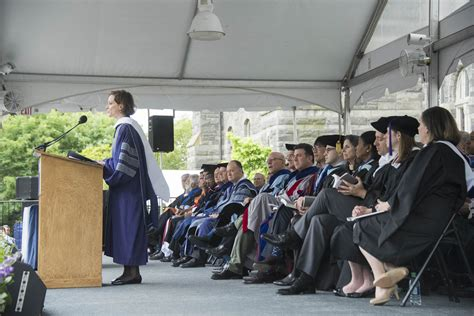 Georgetown Mba Admitted Students Weekend georgetown graduates thousands of students during