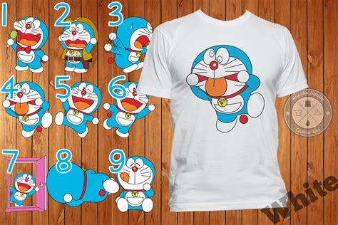 Kaos Doraemon jual kaos doraemon 9 pilihan gambar pack 1 yoyaku