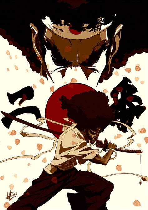 afro samurai by mrwills on deviantart