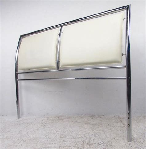 chrome headboards contemporary modern chrome headboard for queen size bed