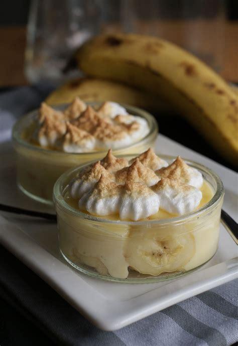 baiser für kuchen alabama banana pudding warmer bananen pudding usa