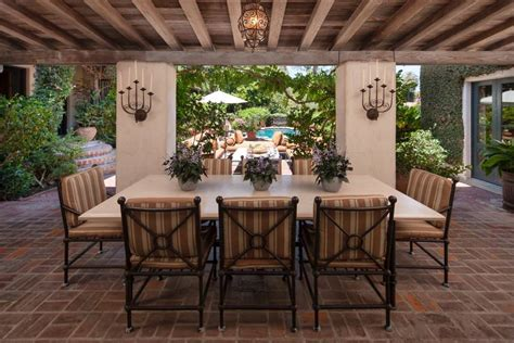 outdoor dining rooms 26 outdoor dining room designs decorating ideas design
