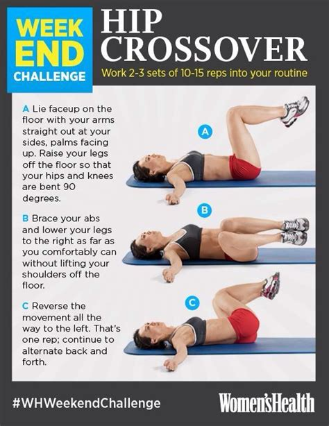 mid section workout mid section workout health kick pinterest