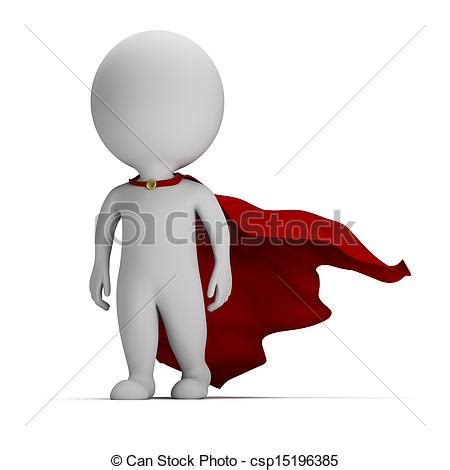can stock photo clipart illustration de courageux gens petit 3d