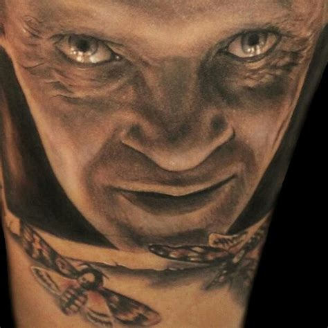 silence of the lambs tattoo silence of the lambs tattoos