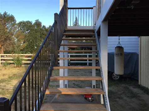 Modular Deck Kits by Outdoor Stairs Stair Kits For Basement Attic Deck
