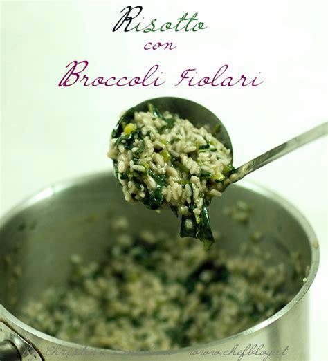 cucinare broccolo fiolaro risotto con broccoli fiolari