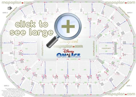 Bell Center Floor Plan by Mts Centre Seat Amp Row Numbers Detailed Seating Chart