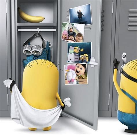 minions room minions locker room minions lockers haha and this