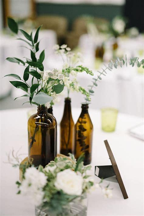 Industrial Modern Wedding with a Greenery Wall   Wedding