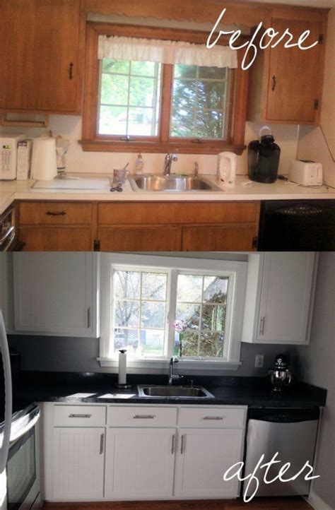 reface kitchen cabinets before after all you must know about cabinet refacing decoholic
