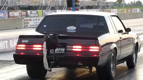 buick grand national racing turbo buick grand national makes 8 74 pass drag racing