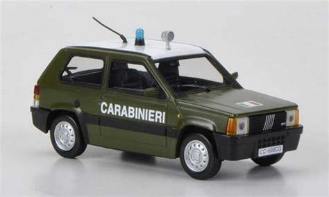 Diecast Bburago 124 Fiat 500 Carabinieri 1 Fiat Panda Carabinieri 1986 Hachette Modellini Auto 1 43