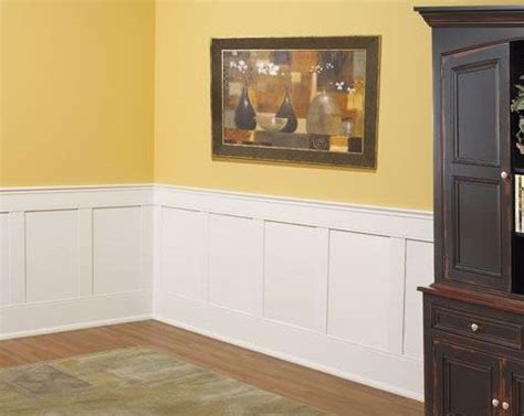 Mdf Wainscot Panel by Recess Panel Wainscoting Mdf Kit 37 Quot H X 96 Quot L