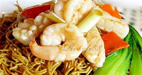 membuat i fu mie resep i fu mie seafood