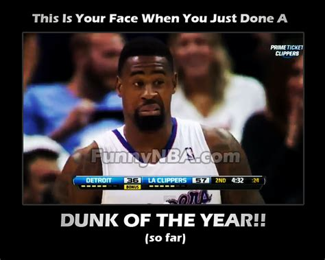 Deandre Jordan Meme - 2013 dunk of the year so far deandre jordan nba