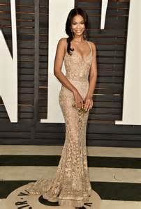 Vanity Fair Oscar 2015 Chanel Iman 2015 Vanity Fair Oscar In