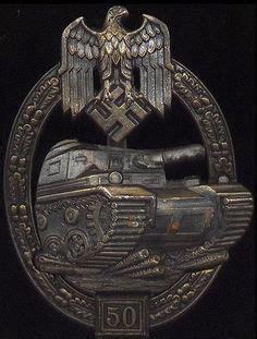 ww2 era german panzer assault uniform badge 25 engagements ww2 german army panzer assault badge bronze badges also