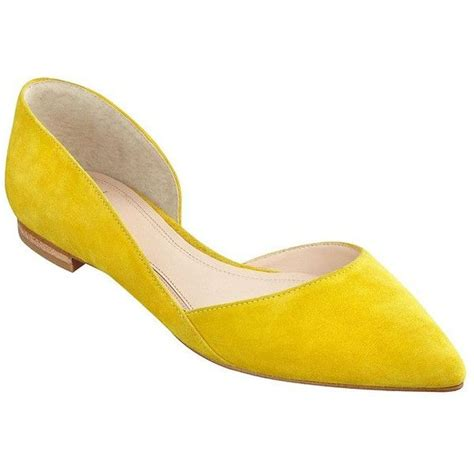 flat yellow shoes 17 best ideas about yellow flats on yellow