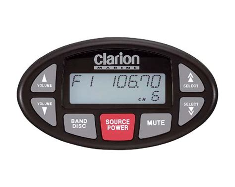 boat radio replacement wanted clarion xmd3 cmd4 oval remote planetnautique