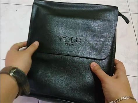 Pouch Kosmetik Polos Collorful unboxing of knock polo videng sling bag black color