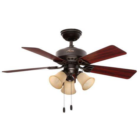 hunter beacon hill 42 ceiling fan hunter beacon hill 42 in indoor new bronze ceiling fan