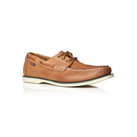 boat shoes ralph lauren polo ralph lauren bienne boat shoe laceups in brown for