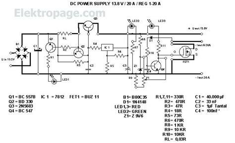 Stepper Motor 24vdc 47 Watt Bipolar 4 Wire 13 8v 20a regulated dc power supply schematic circuits elektropage