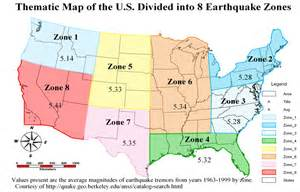 Earthquake Map Usa by Earthquake Risk Mapping For The United States Guest Post