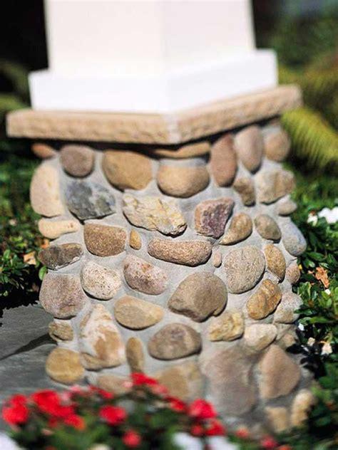 Pot Vas Bunga Handmade 07 15 ide kreatif dekorasi rumah dengan batu