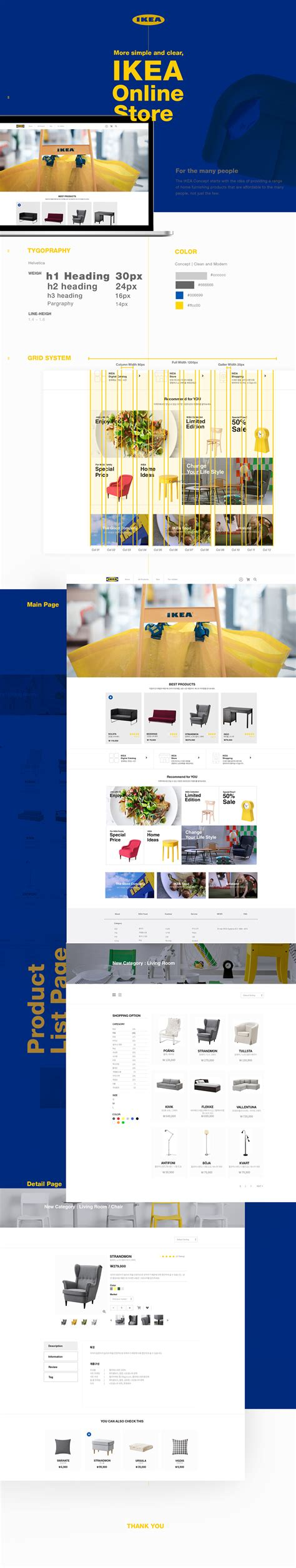 ikea redesign wed ikea redesign 브랜딩 편집 ui ux